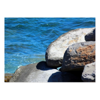Rocks by the Ocean on the island of Madeira Pack Of Chubby Business Cards