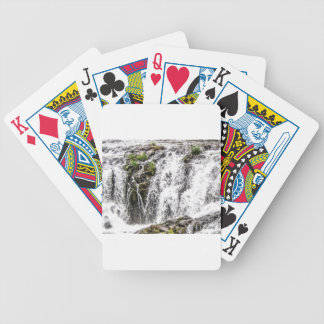 rocks fall over the falls bicycle playing cards