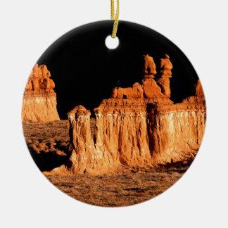 Rocks Goblin Valley Utah Ceramic Ornament