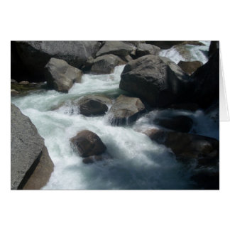Rocks - Merced River Card
