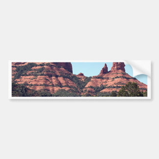 Rocks near Sedona, Arizona Bumper Sticker