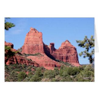 Rocks near Sedona, Arizona Card