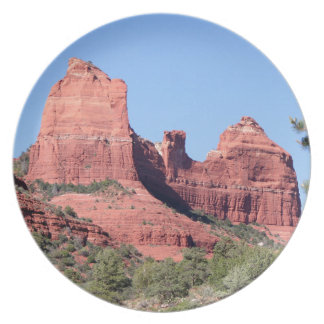Rocks near Sedona, Arizona Plate