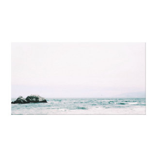 Rocks   Ocean   Sea   Water Canvas Print