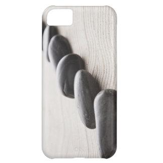 Rocks on sand iPhone 5C case