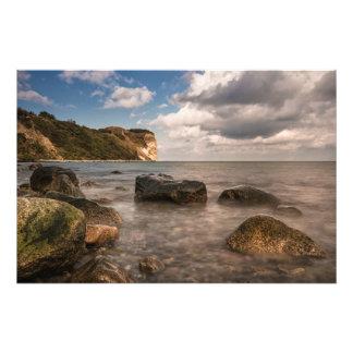 Rocks on the Baltic Sea coast Photograph