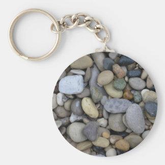 Rocks on the Beach Key Ring