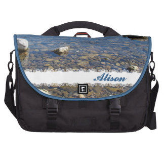 Rocks on the Shore Laptop Computer Bag
