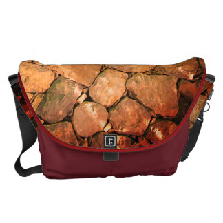 rocks red courier bags