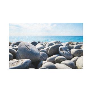 Rocks | Sky | Sea | Ocean Canvas Print
