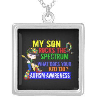 Rocks Spectrum Autism Son Necklaces