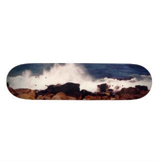 Rocks & Surf Photo Skateboard Deck