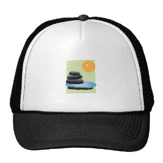 Rocks Water Mesh Hat