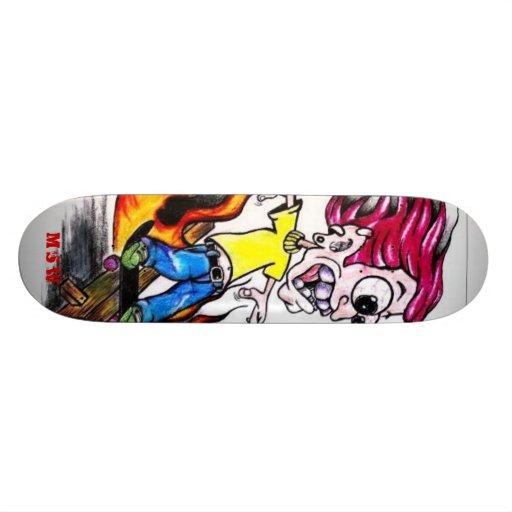 Rockslide Custom Skate Board