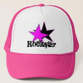 Rockstar baby trucker hat