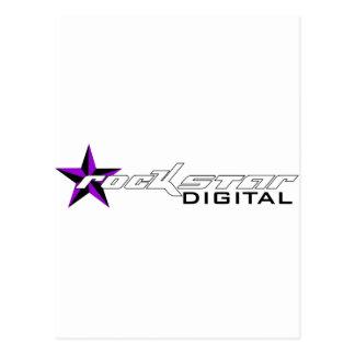 Rockstar Digital Merchandise Postcard