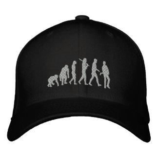 Rockstar Evolution Musician Evolution Rock Music Embroidered Hat