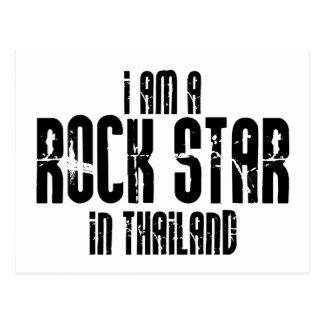 Rockstar In Thailand Postcard