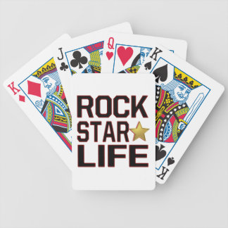 Rockstar Life Bicycle Playing Cards