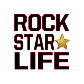 Rockstar Life Postcard
