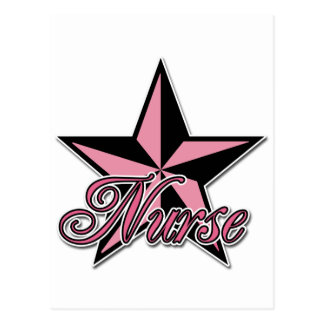 Rockstar Nurse Postcard