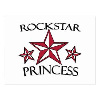 Rockstar Princess Postcard