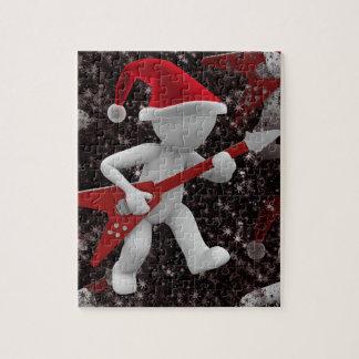 rockstar santa jigsaw puzzle