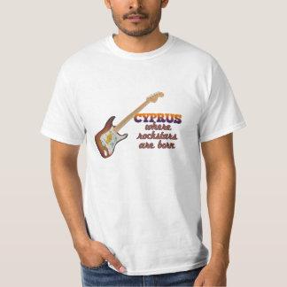 Rockstars are born in Cyprus T-Shirt