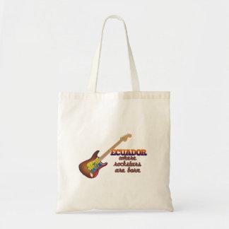 Rockstars are born in Ecuador Bag