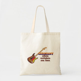 Rockstars are born in Germany Tote Bag