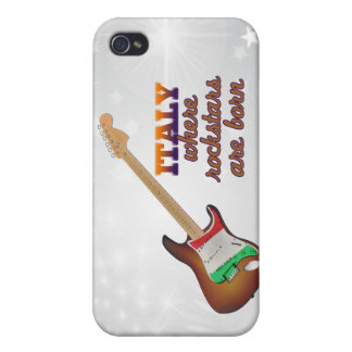 Rockstars are born in Italy Covers For iPhone 4