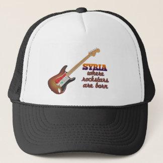 Rockstars are born in Syria Trucker Hat