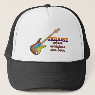 Rockstars are born in Ukraine Trucker Hat