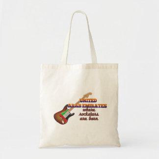 Rockstars are born in United Arab Emirates Bag