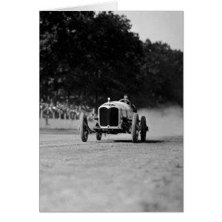 Rockville Fair Auto Race 8-25-1923 Card