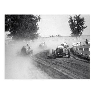 Rockville Fair Auto Races 1923 Postcard