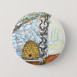 rockwall crop 6 cm round badge
