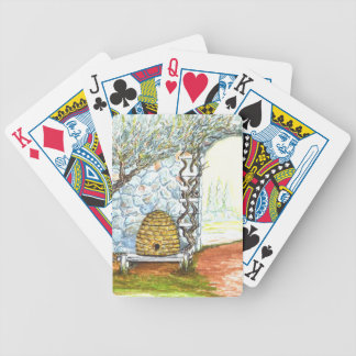 rockwall crop bicycle playing cards
