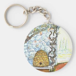 rockwall crop key ring