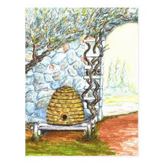rockwall crop postcard