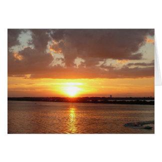 Rockwall Texas Sunset Card