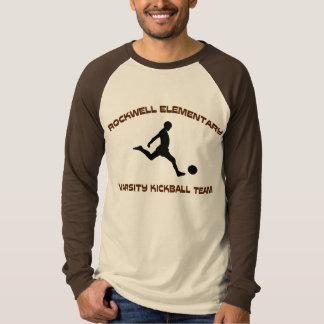 Rockwell KickBall Kickin' Ain't Easy T-Shirt