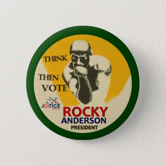 Rocky Anderson for President 2012 6 Cm Round Badge