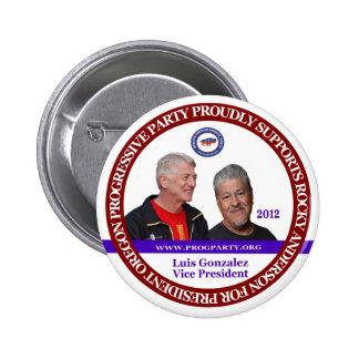 Rocky Anderson Oregon 2 6 Cm Round Badge