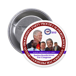 Rocky Anderson Oregon Coattail 6 Cm Round Badge