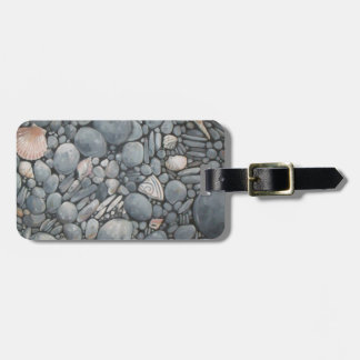 Rocky Beach House Nature Luggage Tag