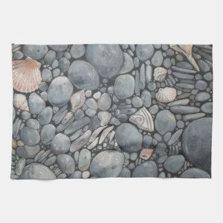 Rocky Beach House Nature Tea Towel