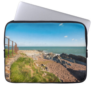 Rocky beach in Ireland Laptop Sleeve