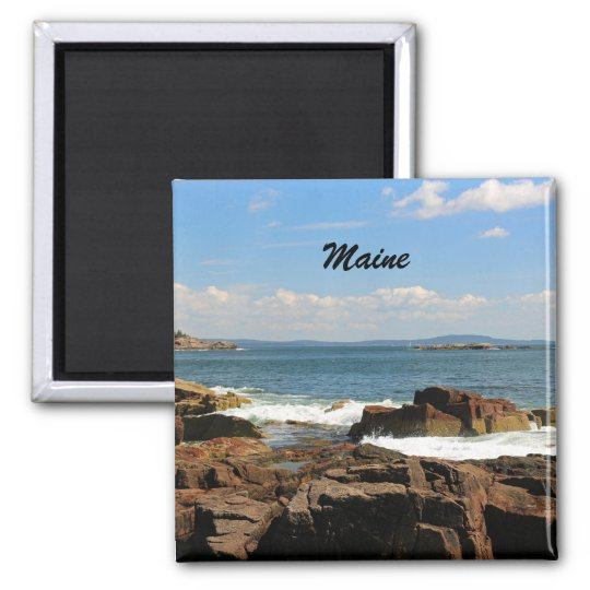 Rocky Coastline of Maine Magnet