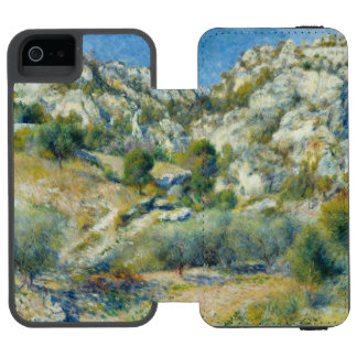 Rocky Crags at L'Estaque by Pierre-Auguste Renoir Incipio Watson™ iPhone 5 Wallet Case